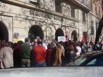 Los trabajadores del INSS de continúan las movilizaciones
