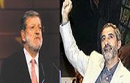 Juan Carlos Rodríguez Ibarra y Gaspar LLamazares felicitan a los Príncipes de Asturias