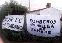 CGT Cáceres apoya a los bomberos de Diputación y exige que se negocie directamente con el colectivo.