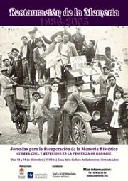 Jornadas de Memoria Histórica en Calamonte