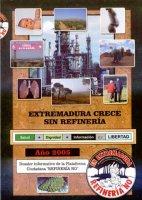 Refineria No comienza la distribución de su libro-dosier ''Extremadura crece sin refineria''