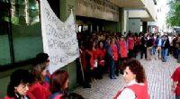 Empleados de la Seguridad Social se concentran ante su sede para pedir mejorar salariales