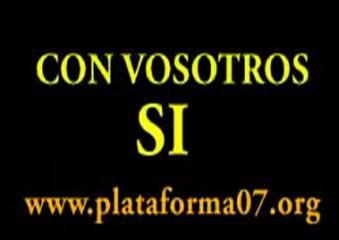 COMUNICADO DE LA RCADE. PLATAFORMA 0.7 DE BADAJOZ.