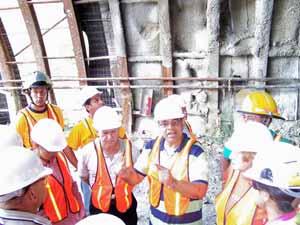 CGT denuncia que en Cáceres se incumple  sistemáticamente el convenio colectivo de la construcción por parte de las empresas.