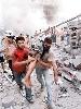 Concentración contra la guerra del Líbano en Cáceres