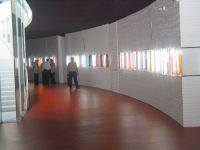 Inauguración de la escultura a las víctimas de ocupación franquista en Badajoz