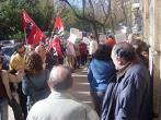 Nueva concentración trabajadores INSS Cáceres