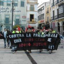 1º de mayo anarconsindical en Extremadura
