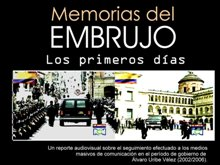Proyección del documental Memorias del embrujo.