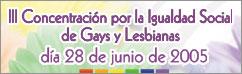 Actos por la igualdad de gais, lesbianas, bisexuales y transexuales en Extremadura