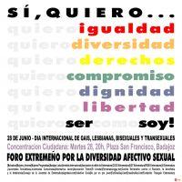 ExtremaduraGay.Net. El espacio web cercano para los gays y lesbianas de Extremadura