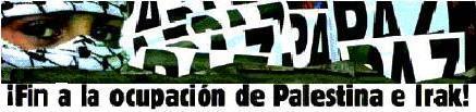 Acto de Izquierda Unida de Extremadura en solidaridad con el pueblo palestino