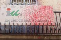 La sede IU en Badajoz sufre su sexto ataque en lo que va de legislatura