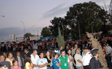 Entre 500 y 1.000 personas se concentran en el acto institucional del Día de Extremadura contra la Refinería y las Térmicas. . . : : : ABAJO DEL ARTICULO FOTOS : : : . . .